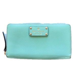 [KATE SPADE] Light Blue Wallet